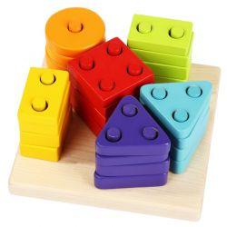 Cubika Drewniany Sorter Figury Geometryczne