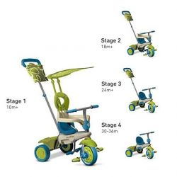 Smart Trike Vanilla 4w1 Rowerek