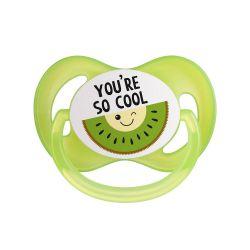 Canpol Babies Smoczek Silikon Symetryczny So Cool Zielony