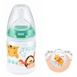 Nuk First Choice Butelka 150 ml + GRATIS Smoczek Disney