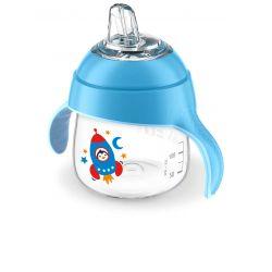 Avent Kubek z Ustnikiem 6m+ (200 ml) Niebieski
