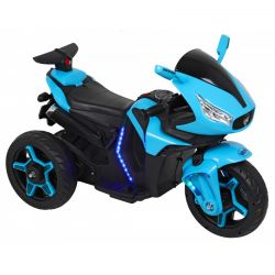 Baby Mix Motocykl na Akumulator 12V Niebieski