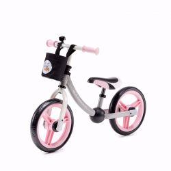 Kinderkraft 2Way Next Rowerek Biegowy + Akcesoria Pink