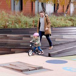 Kinderkraft Space Rowerek Biegowy Pink