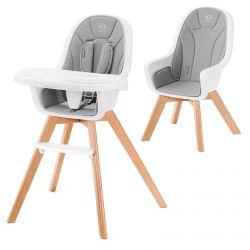 Kinderkraft Tixi 2w1 Krzesełko do Karmienia Gray