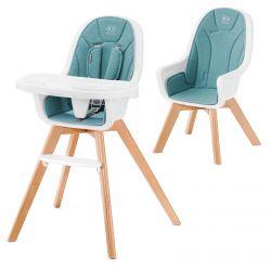 Kinderkraft Tixi 2w1 Krzesełko do Karmienia Turquoise