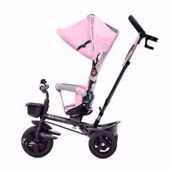 Kinderkraft Aveo Rowerek PRZODEM i TYŁEM Trójkołowy Pink