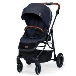 Kinderkraft All Road Wózek Spacerowy Imperial Blue