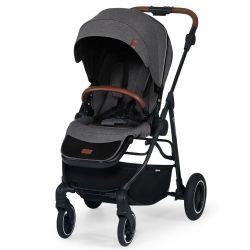Kinderkraft All Road Wózek Spacerowy Ash Grey