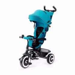 Kinderkraft Aston Rowerek PRZÓD i TYŁ Trójkołowy Turquoise