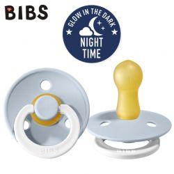 Bibs Smoczek Uspokajający Baby Blue Night
