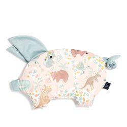 La Millou Velvet Podusia Sleepy Pig Dundee & Friends Pink...