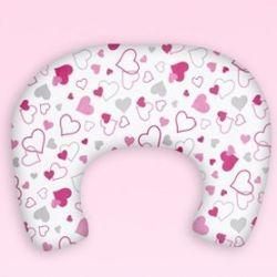 SuperMami Poduszka do Karmienia Love Różowe