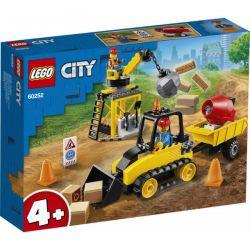 Lego City Buldożer Budowlany 60252 Klocki