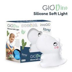 Innogio Lampka Silikonowa Dino (Świecie w 8 Kolorach)