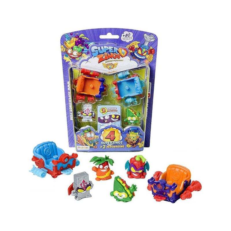Magic Box Super Zings Seria 5 Zestaw Figurek Aerowagons