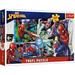Trefl Puzzle Spider-man na ratunek 160 el.