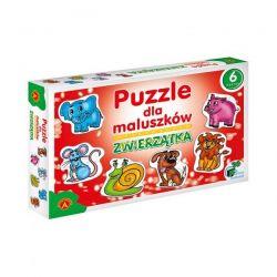 Alexander Puzzle dla maluszków Zwierzątka 27 el.