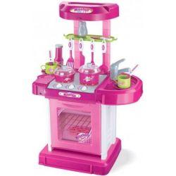 Baby Mix Kuchnia z Akcesoriami Różowa