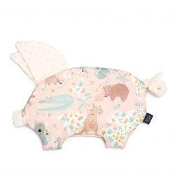 La Millou Podusia Sleepy Pig Dundee & Friends Pink Ecru