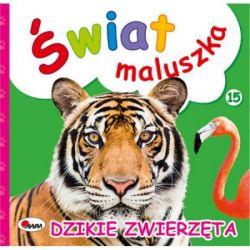 Książeczka Dzikie zwierzęta świat maluszka