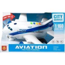 Mega Creative Samolot na baterie w pudełku