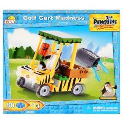 Cobi Klocki 80 Elementów Penguins Golf