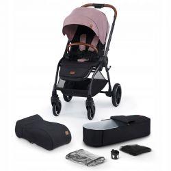 Kinderkraft Evolution Cocoon Wózek 2w1 Mauvelous Pink