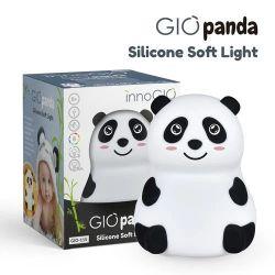 Innogio Silikonowa Lampka GIOPanda (Świeci w 8 Kolorach)