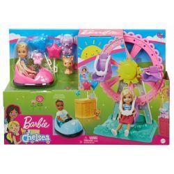 Barbie - Club Chelsea Wesołe miasteczko Lalka + Akcesoria
