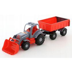 Wader Polesie Traktor z Przyczepą Ruchome Elementy