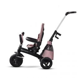 Kinderkraft Easytwist 360 Rowerek Trójkołowy Obrotowy Mauvelous Pink
