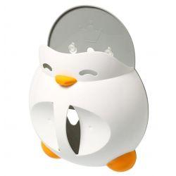 BabyOno Pojemnik na Zabawki Kąpielowe Penguin Martin