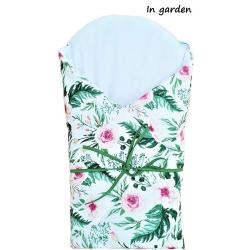 Infantilo Roże Usztywniany 75x75 In Garden