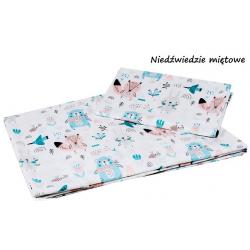 Infantilo Pościel 2-elementowa 120x90 Niedźwiedzie Miętowe