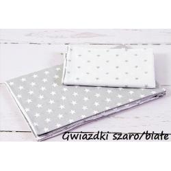 Infantilo Pościel 2-elementowa 120x90 Gwiazdki Szaro Białe