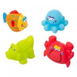 Akuku Zabawki Kąpielowe (4 sztuki)