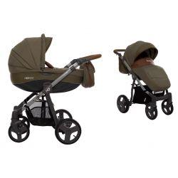 BabyActive Mommy Wózek 2w1 3w1 4w1 Khaki 07