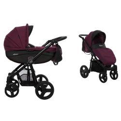 BabyActive Mommy Wózek 2w1 Głęboko Spacerowy Plum 08