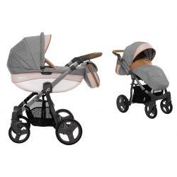 BabyActive Mommy Wózek 2w1 3w1 4w1 Pinky 09
