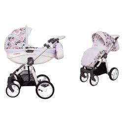 BabyActive Mommy Wózek 2w1 Głęboko Spacerowy Peony 24