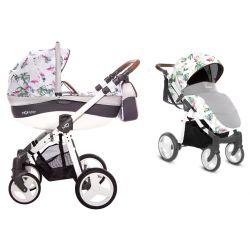 BabyActive Mommy Wózek 2w1 3w1 4w1 Flamingo 11