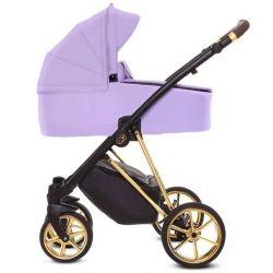 BabyActive Musse Ultra Wózek 2w1 Głęboko Spacerowy Lilac