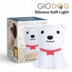 Innogio Silikonowa Lampka GIODog (Świeci w 8 Kolorach)