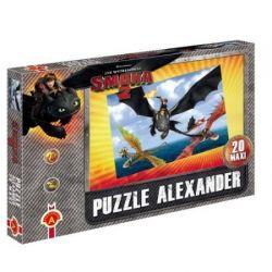 Alexander Puzzle Maxi Jak wytresować smoka 2 Lot