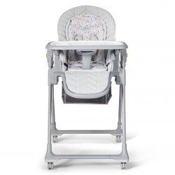 Kinderkraft 2w1 Krzesełko do Karmienia - Leżaczek Lastree Grey
