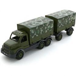 Polesie Samochód z burtami wojskowy z przyczepą