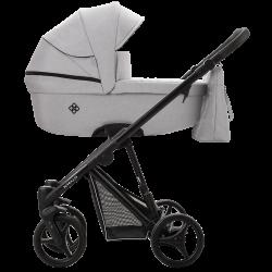 Bebetto Nitello Wózek 2w1 05 Czarny Stelaż