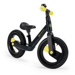 Kinderkraft Goswift Rowerek Biegowy do 30 kg (POMPOWANE KOŁA) Black