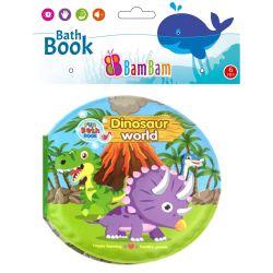 BamBam Książeczka do Kąpieli Świat Dinozaurów